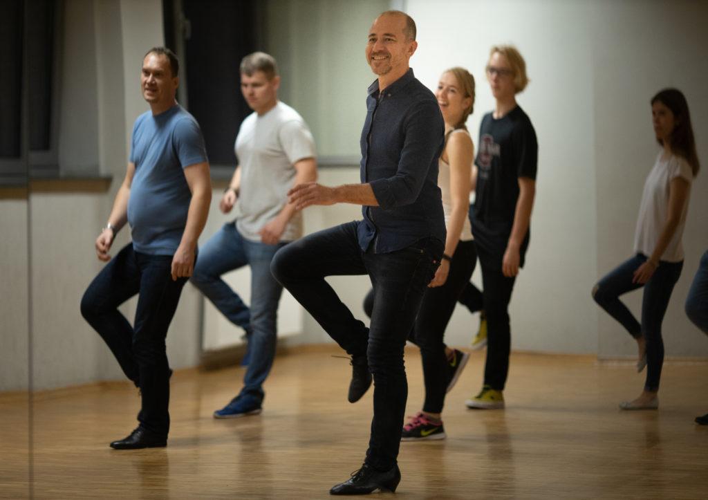 Grupowy kurs tańca